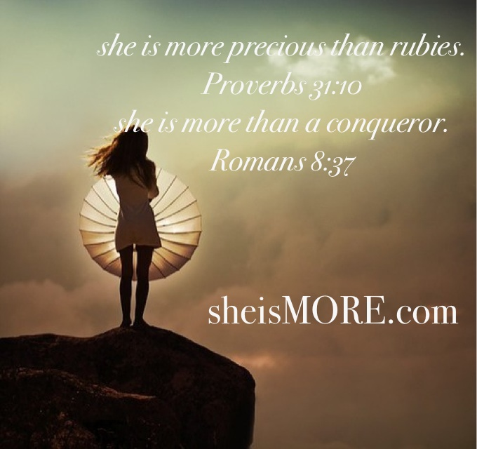 she is more...