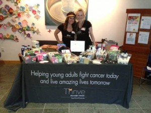 Volunteering with Thriving Through Cancer
