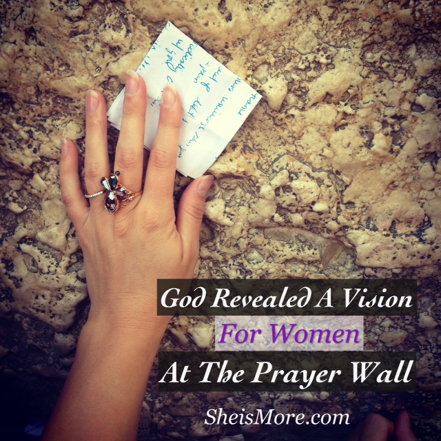 Vision at the Prayer Wall