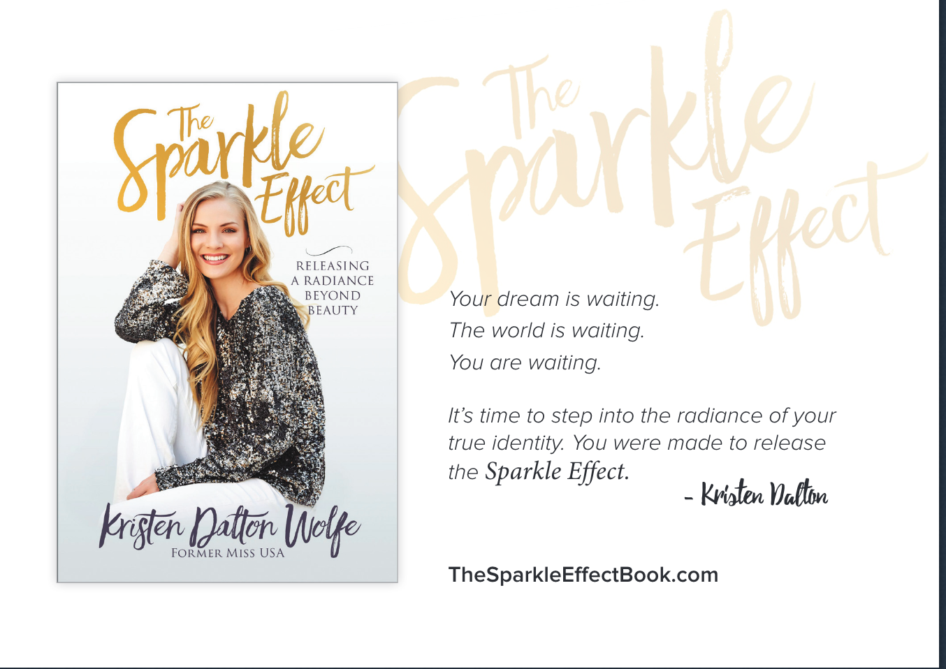 Kristen Dalton's The Sparkle Effect Book