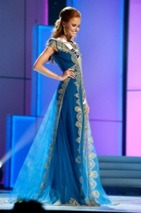 Alyssa in Evening Gown for Prelim Competition