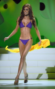 Alyssa in Swimsuit for the Miss Universe Telecast